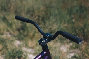 Pride Street Main Frame  PS Profit bar L 106 mm rise  PS Street Meat fork  Purple beast Yo! #pridestreet #psbikes #mainframe
