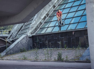 🔥 Photo from Elnur 101  @elnur101 -  Barspin @pridestreet #pridestreet #psbikes #mountainbike #barspin #mtb #bike #bmx - #mainframe