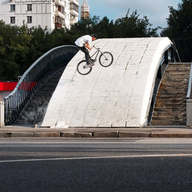 #pridestreet #mtb #mainframe #bmx #cranks #spotmap Dmitry Tsimbal – team rider | photo by @alexchipp