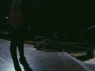 Night time ⌚ with Makarov Ilysha  from @makarov_ilysha -  night time in local park kuzminki #kutikatai #therisedotcom #fictionwear #pridestreet - #psbikes