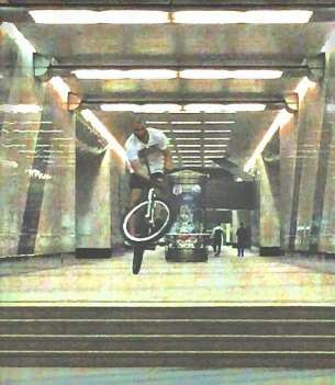 Real vibes from Elnur yo  @Regrann from @elnur101 -  SUBWAY #BARSPIN #XXX #DIRTY #101