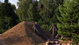 Pride Street Slope in da action by @georgiyvikulov on @vvcforce dirts  #pridestreet #psbikes #slopeframe