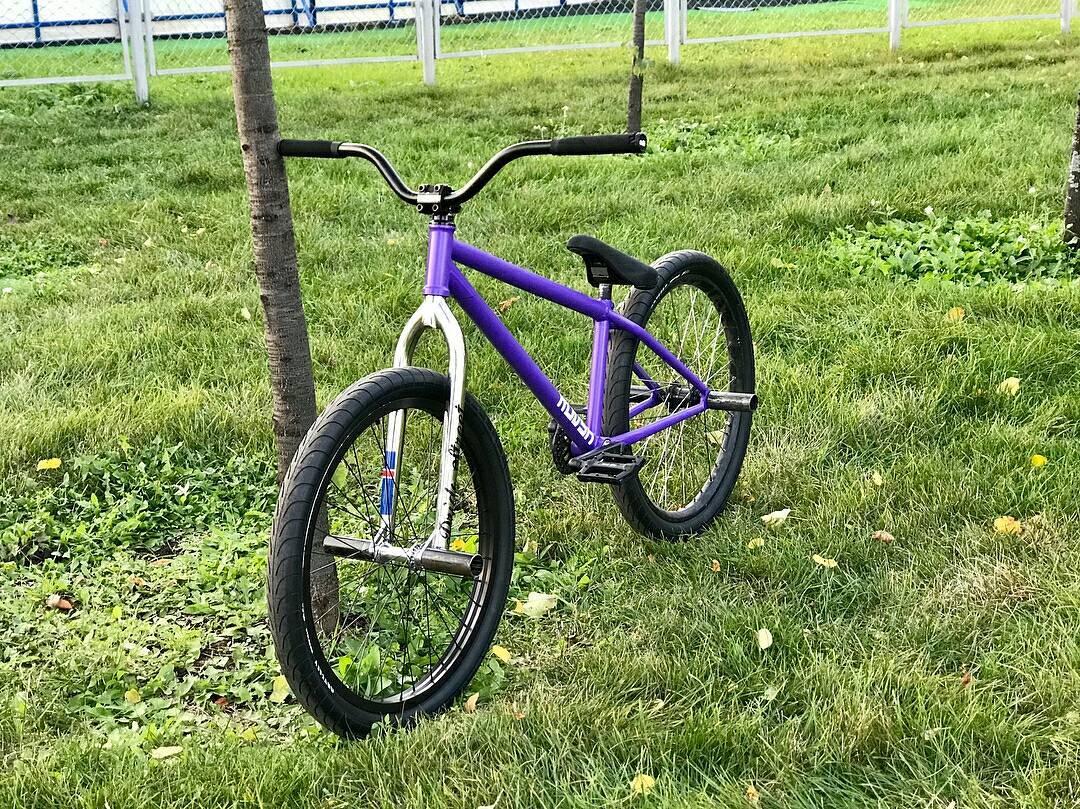 Fresh whip from Elnur @elnur101 За время,пока я восстанавливаюсь,решил немного освежить свой велосипед,вот что вышло) @pridestreet @kutikataico #pridestreet #bike #bmx #mtb #yo #psbikes