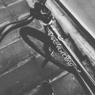 Winter moods by Serj Matt @serj_matt -  #endofseason ❄️❄️❄️❄️❄️ #pridestreet #psbikes #psmainframe #mtb #mtb26 #mtbstreet #mtbpower #nowember #street #blackandwhite #mytischi #russia #vvc #vvcforce #ca #cashop #ciay