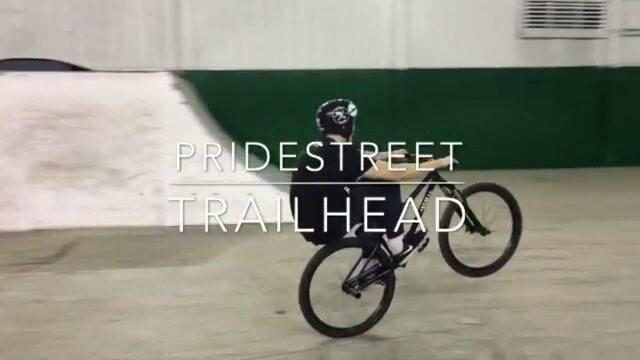 Moves from Alexey Sinayko @alexeysinayko –  трюк на Семёнке!!! 💻 Видео 🕒📹 @vanyaleonov  @pridestreet  @trailheadindastree  #TrailheadWear #TrailheadRussia  #THD #trailheadvideo #ps #pridestreet #mainframepro #psbikes