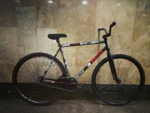 Our parts fit perfect 👌 any bike 🚲 yo  from @shkondaride -  #pridestreet #bike #psbikes #fgfs #fixedgear